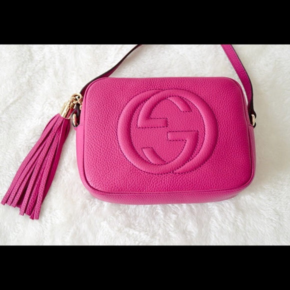 049958b81d070f Gucci Bags | Soho Disco Hot Pink Crossbody | Poshmark